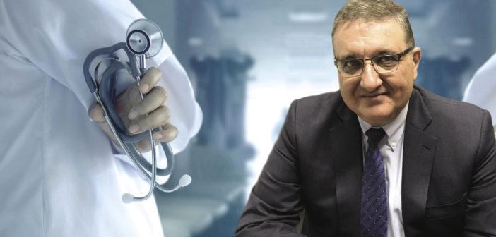 Αθανάσιος Εξαδάκτυλος | Πρόεδρος του Πανελλήνιου Ιατρικού Συλλόγου (ΠΙΣ)